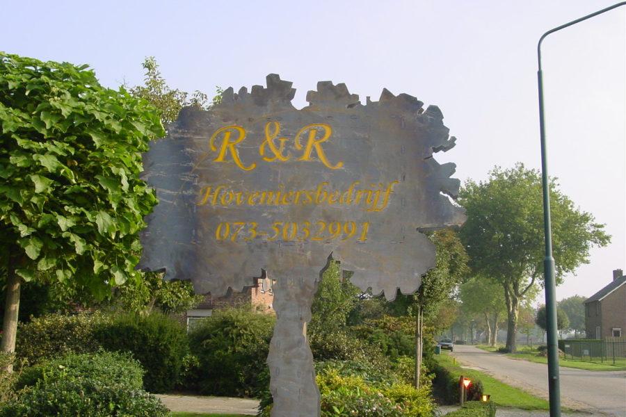 Bord R&R met verlichting